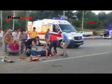 Muğla'da 2 otomobil çarpıştı: 4 yaralı