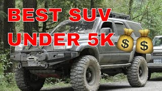 Here's Why the 96-02 Toyota 4Runner is the best SUV/Truck Under $5000