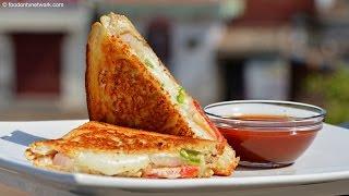 Cheese Sandwich Recipe   Qiock & Easy Fast Food by Nikunj Vasoya