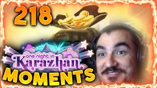 Hearthstone Karazhan Daily Funny and Lucky Moments Ep. 218   Kripparrian Value Turn!!!