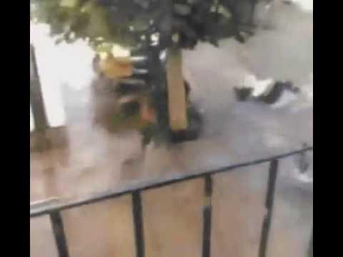 desi girl falls in water