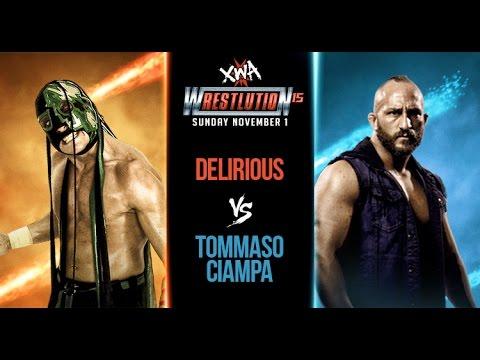 ** Free Match ** Tommaso Ciampa vs Delirious from XWA Wrestlution 15