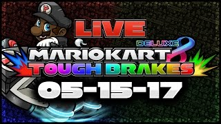 Tough Brakes LIVE Tournament! - 5/15/17 | 200cc vs Viewers! (Mario Kart 8 Deluxe)