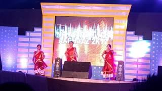 Gandhi engineering college tech_fest. 2k17/cycle se aaya gori/dance by girls