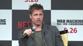 Brad Pitt on his absurd and serious