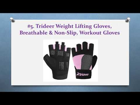 Exercise Regularly With 10 Best Gym Gloves – 2018 Product Reviews