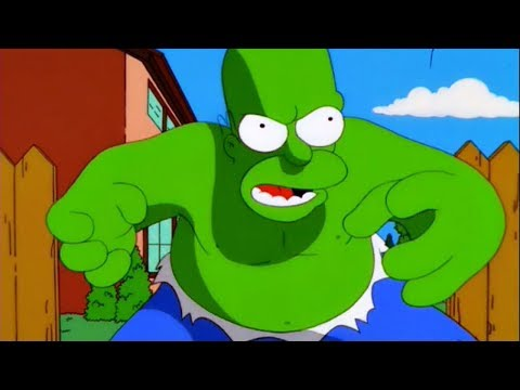 The Simpsons - Homer is the Incredible Hulk