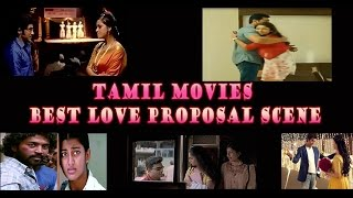 Best Top 5  Love Proposal Scene in Tamil Movies