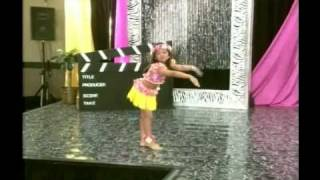 Hawaiian dance mix Routine from Celebrity Kids Pageant