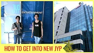 HOW TO GET TO NEW JYP ENTERTAINMENT BUILDING 2018 (TWICE, GOT7, STRAY KIDS)