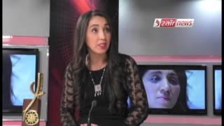 لويزة نهار تتحدث عن جائزة أفضل ممثلة في مهرجان أغادير مع ماليك سليماني في النشرة الثقافية