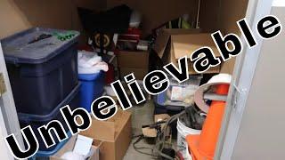 I Bought A LOST Storage Auction Unit UNBELIEVABLE ITEMS Inside!