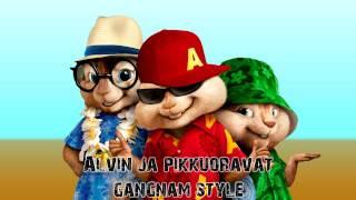 Alvin ja pikkuoravat - Gangnam Style