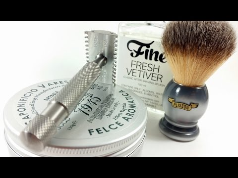 Weekend Shave w/ATT, Saponificio Varesino, Plisson, & Fine