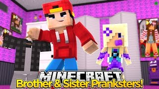 Minecraft Adventure - PUTTING JAKES CLOTHES IN LITTLE ALLYS ROOM!