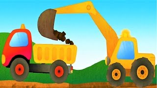 Play The Truck & Construction Vehicles - Educational Game For Kids