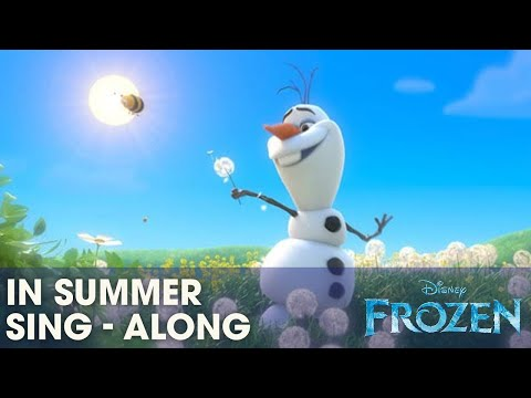 Xxx Mp4 FROZEN Quot In Summer Quot Sing A Long With Olaf Official Disney UK 3gp Sex