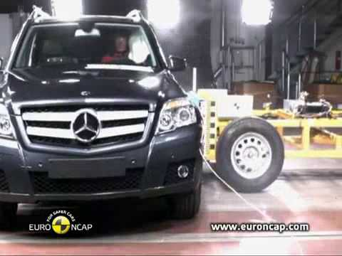 Crash Test 2009 - 20** Mercedes Benz GLK 220 (Full Test) EuroNcap