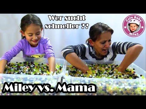 watch SHOPKINS ORBEEZ Schatzsuche - WETTKAMPF Miley gegen Mama - CUTEBABYMILEY
