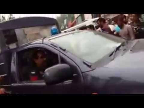 Police Fight Lahore