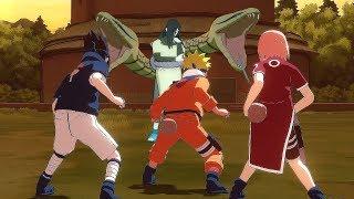 Team 7 vs Orochimaru & Forest of Death Race - Naruto Ultimate Ninja Storm Legacy (PC)