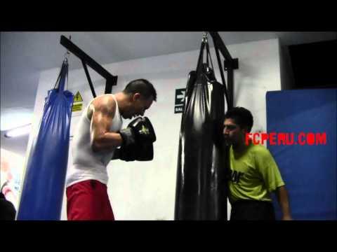 Rumbo al Campeonato Mundial de Kickboxing Entrenamiento de Boxeo de Miguel Sarria Saco
