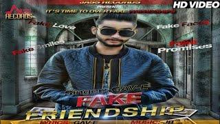 New Punjabi Songs 2016 | Fake Friendship | Gav- E | Latest Punjabi Songs 2016 | Jass Records