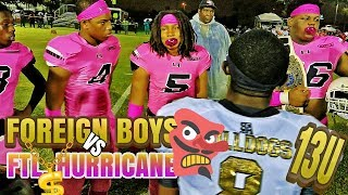 GAME OF THE YEAR! Miami Gardens ( FOREIGN BOYS) vs #1 FTL. Hurricanes