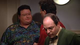 Seinfeld. Tiny Newman being Coy. Clip from Season 03 Episode 22 The Keys