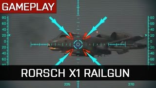 RORSCH MK-1 RAILGUN Kills Gameplay - Battlefield 4 Final Stand DLC