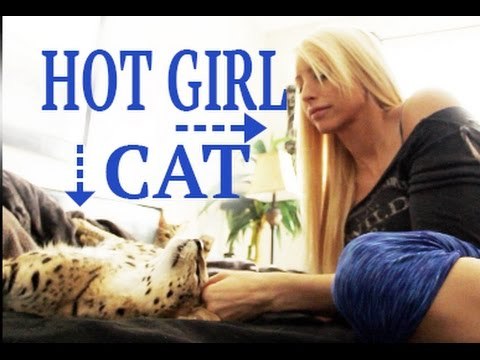 Girl Who Owns Exotic Cats!