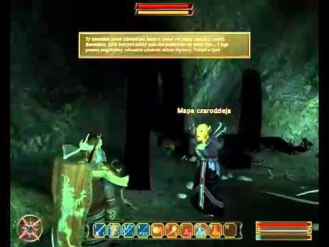 Gothic 3 Zmierzch Bogów walka z Mistrzem przywołania i z Bestią.