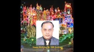Happy Birthday Mr VSR Avadhani