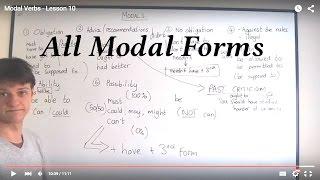 Modal Verbs - Lesson 10