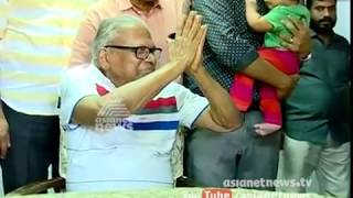 VS Achuthanandan in Vengara By Poll campaign