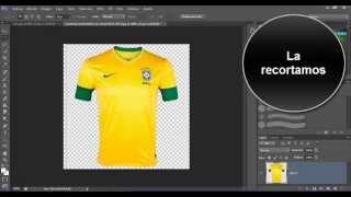 Como cambiar de camiseta con Photoshop Cs6.