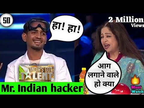 mr indian hacker on indias got talent funny moments | dilraj singh funny video | phonepe | Googlepay