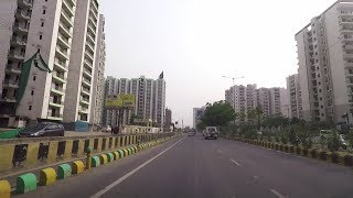Driving In Ghaziabad - Uttar Pradesh, India