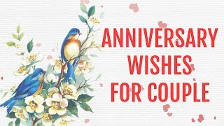 Happy Anniversary Wishes for Couple, greetings, ecard, prayer, SMS
