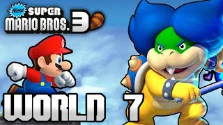 New Super Mario Bros. 3+ Part 7 - World 7 (4 Player)