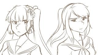 『Yandere Simulator』Epic Rap Battles of Akademi - Osana vs Ayano