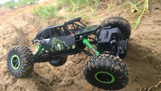 4X4 RC CAR UNBOXING AND TEST DRIVE