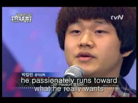Korea s Got Talent Homeless Boy Sung bong Choi With An Amazing Voice Singing Opera