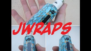 Jwraps vapemail and how to wrap a RX200