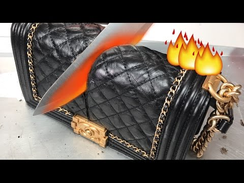 Glowing 1000 DEGREE KNIFE VS. CHANEL BAG MAKEUP