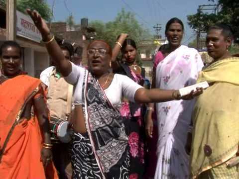 Indian Kinner Hijara Dance Rally