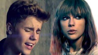 I Knew You Love Me - Mashup MV - Justin Bieber & Taylor Swift