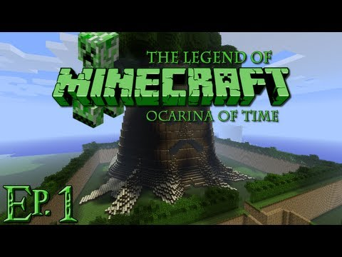 The Legend of Minecraft Ocarina of Time Partie 1