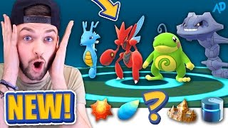 I got the RAREST ITEM in the GAME - BUT WHICH ONE? - Pokemon GO *NEW* EVOLUTION!