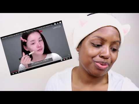 Xxx Mp4 BLACK GIRL TRIES FOLLOWING A KOREAN MAKEUP TUTORIAL WITHOUT SUBS 3gp Sex